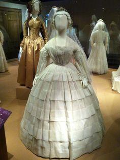 Worn by Emily Allen on October 10, 1860.