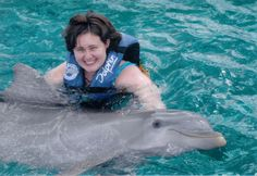 Swam with a dolphin!