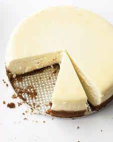 Martha Stewart's Classic Cheesecake  Simple & Rich