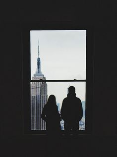 the two of them in new york.