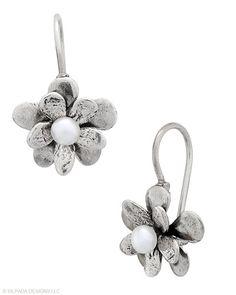Silpada! W1768 Love Bloom Earrings $39.