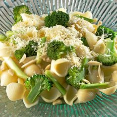 Brocco Mac and Cheese Get more than 30% of your daily calcium needs—for your babys growing bones—wrapped up in cheesy goodness. Plus using whole-wheat macaroni will up your fiber intake and aid in digestion. It makes six servings, so youll have plenty of leftovers for when you dont feel like cooking.