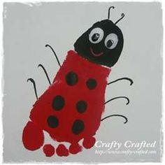 Ladybug footprint!