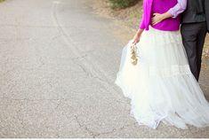 I love brights with whites wedding dressses, purpl convers, purpl cardigan, purple, weddings, converse, dresses
