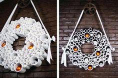 Ideas para Navidad con tubos de PVC