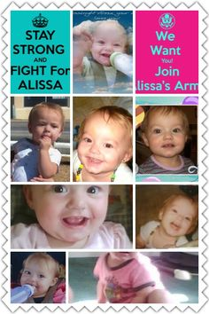 We love you baby girl. Proud member of Alissa's Army ❤