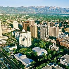 Salt Lake City, Temple Square