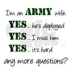 army wife militari wife, soldier, stuff, army deployment quotes, militari life, armi life, army wives, army wife shirts, armi wife