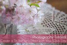 How to Create a Tilt-Shift Lens Effect,