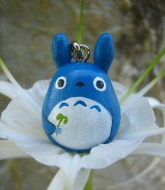 TOTORO Doll Phone strap key chain rings Studio Ghibli by cuteart, $5.25