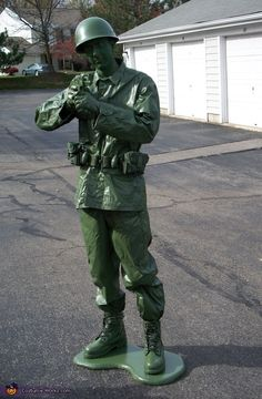 Toy Soldier - 2012 Halloween Costume Contest