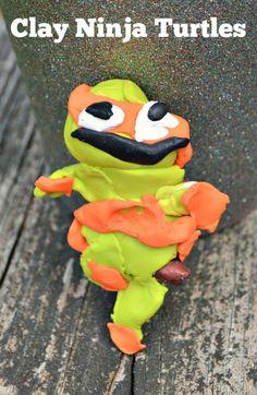 Clay Teenage Mutant Ninja Turtles