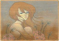 girl tattoos, audreykawasaki, artist audrey, ny artist, audrey kawasaki, the dreamers, kawasaki art, macbook pro, art japon