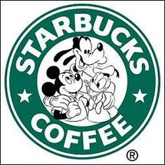 Disney Starbucks.