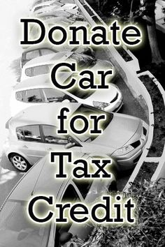 Tips when donating car for tax credit #tax