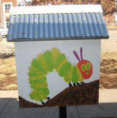 Mary Davies. Lebo, KS.  	 Our LFL was made possible through volunteers of the Lebo Branch Library. The library is located on the north side of our building between the public library and the school. The theme for this LFL was Eric Carle. It has truly been a labor of love!