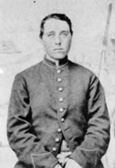 Civil War Veteran - Jennie Irene Hodgers (1843 - October 11, 1915), disguised as a man, enlisted in the 95th Illinois Infantry Regiment under the name Albert J. D. Cashier. The regiment was under Ulysses S. Grant and fought in over 40 battles. She managed to remain undetected by other soldiers. Cashier was captured in battle but managed to escape back to Union lines. After the war, Cashier worked as a laborer, eventually drew a pension. Her secret was not discovered until 1913.