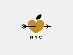 New York pt. III  #Logo #Design #Branding