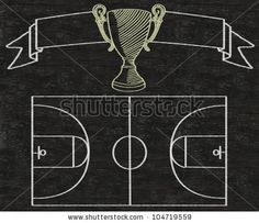 basketball chalk clip art - Google Search