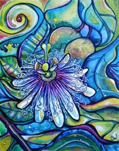 Lilikoi Bloom – Colleen Wilcox Art