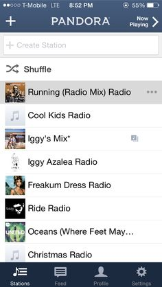 The best pandora station to run to move me pinterest