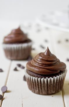 Chocolate Coconut Cupcakes ♥