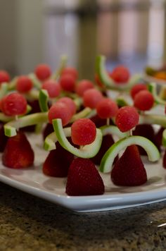 Strawberry Dancers! Perfect for a ballerina theme party!