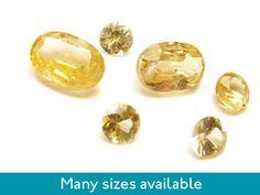 Yellow sapphires from Kernowcraft