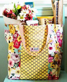 market bag sewing pattern. I <3
