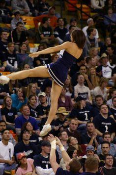 USU cheerleader, Aggies, Spirit Squad, cheer, cheerleading #cheer #KyFun