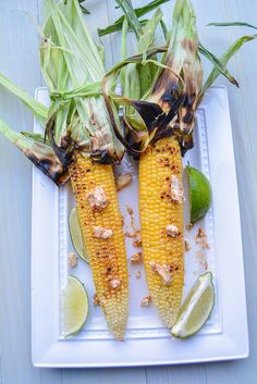 Grilled Jersey Corn