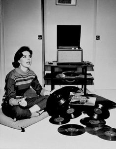 Natalie Wood spins