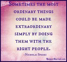 Nicholas Sparks!