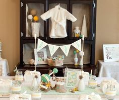 Vintage Baby Shower theme