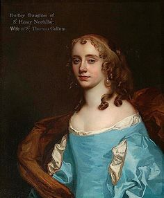 1670 Dudleia Cullum, née North, Lady Cullum by Sir Peter Lely