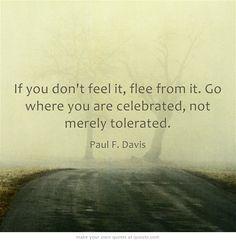 If you don't feel it...Paul Davis