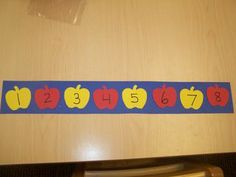 apple number sequencing appl theme, appl number, preschool appl, number sequenc