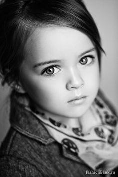 Stunning - Kristina Pimenova, a 5 year old Russian model