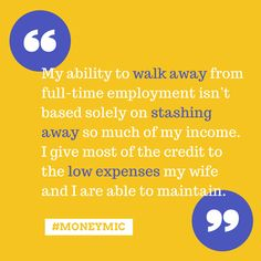 In this #MoneyMic Brandon tells his story about his plan to retire in his 30s