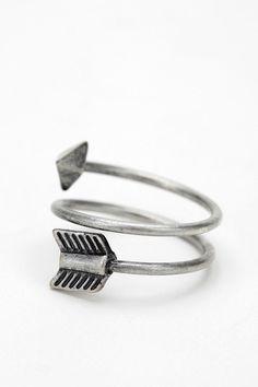 arrow twist ring