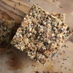 Apricot-Almond-Chia Granola Bars