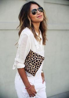 white + leopard.