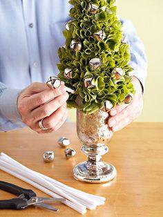 Jingle Bell Tabletop Tree