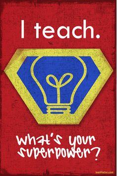 For all the teachers.