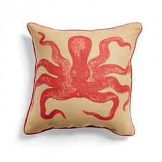 dark coral and nautical: https://www.abchome.com/shop/kevin-obrien-coral-sand-cuttlefish-nautical-pillow-1376913