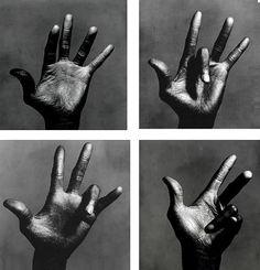 The Hands Of Miles Davis. Irving Penn