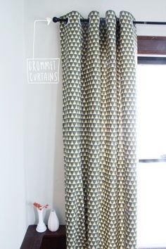 Tutorial : DIY Grommet Curtains — Deuce Cities Henhouse