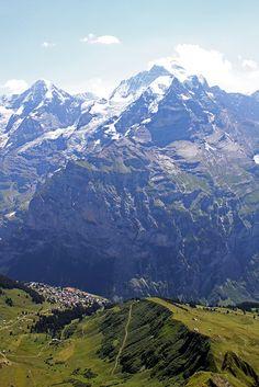 Mountain Village, Swiss Alps