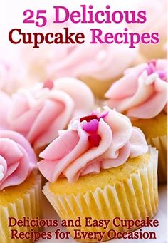 FREE e-Cookbook: 25 Delicious Cupcake Recipes! ~ at TheFrugalGirls.com {get ready for some cupcake wars... in your own kitchen!} :)  #cupcake #recipes