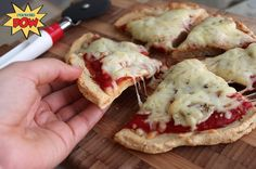 A Protein Pizza Gone Bananas!